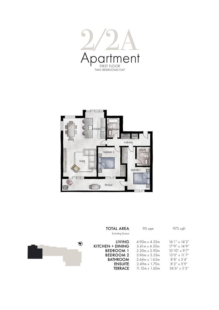 Queens Park - Apartment 2/2A