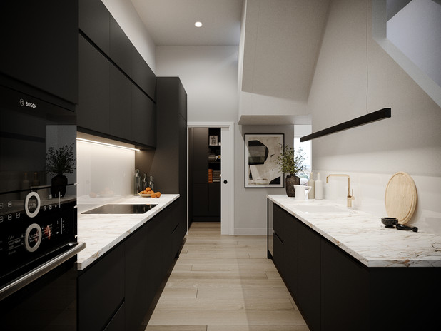 Q17 Lofts Kitchen