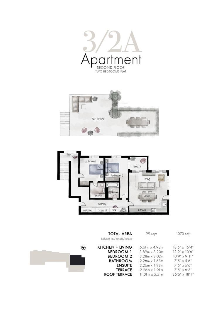 Queens Park - Apartment 3/2A