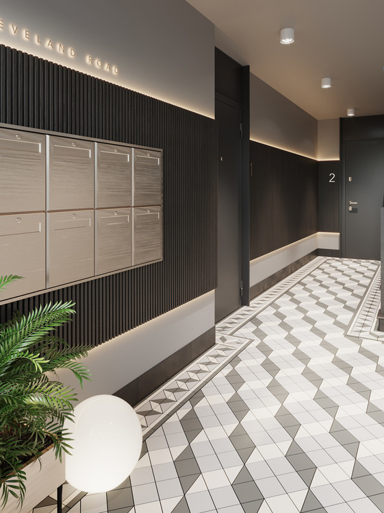 Cleveland Road Interior Design and Development Marketing by Ademchic