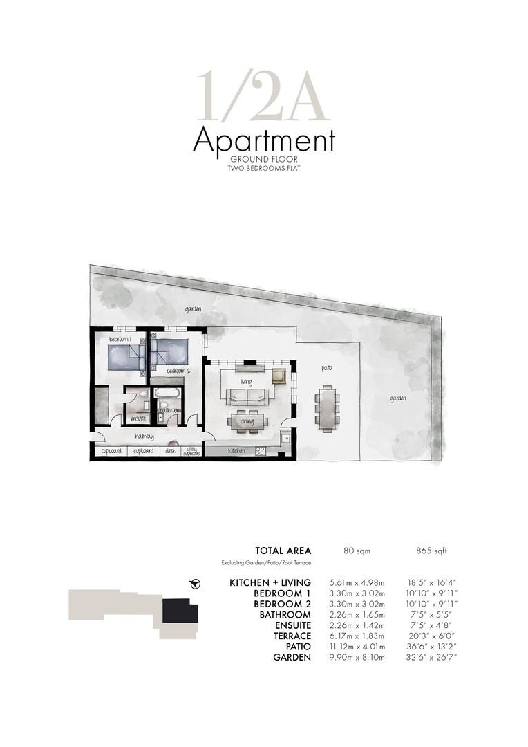 Queens Park - Apartment 1/2A