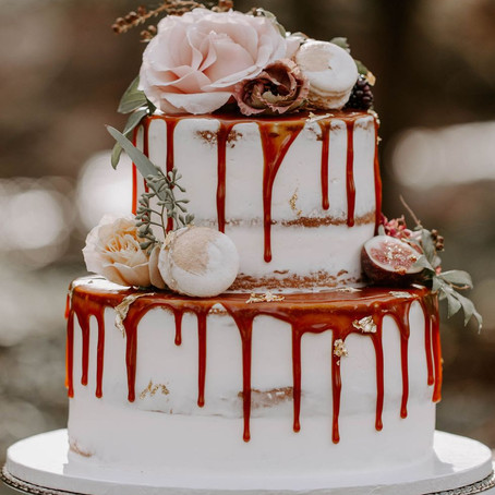 Fall 2019 Wedding Details: Ten Decadent  Wedding Cakes!