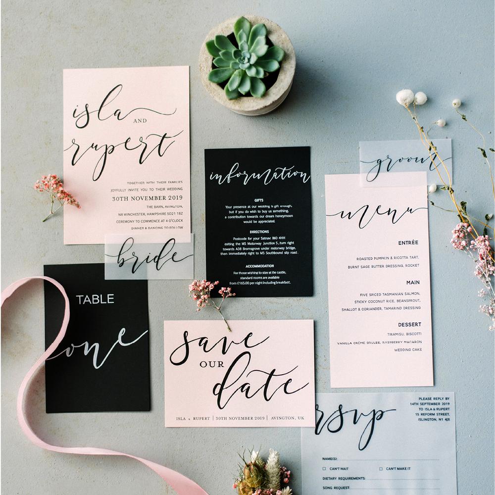 vendors we love polka dot paper wedding stationary elle