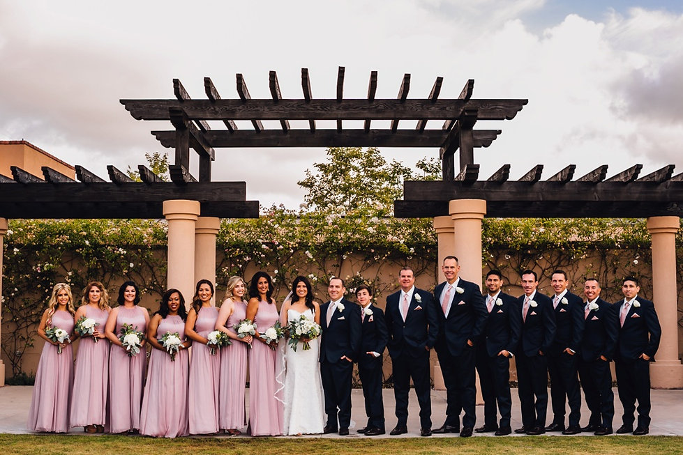 Elle Lee Designs Las Vegas Wedding Party