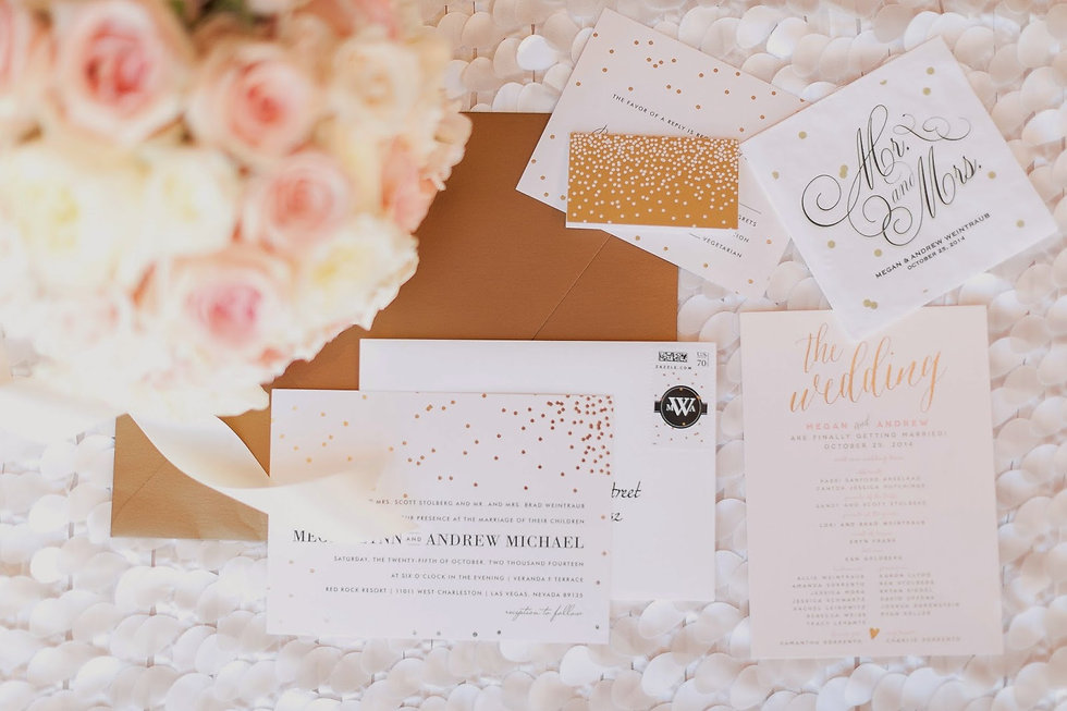 Wedding Invitaions by Elle Lee Designs Ls Vegas