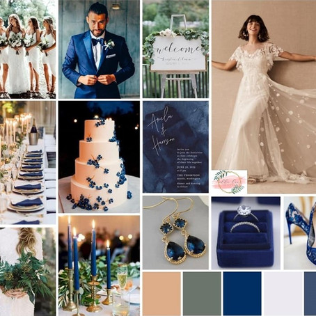 Spring 2020 Wedding Details: Pantone's Color Of The Year Style Board
