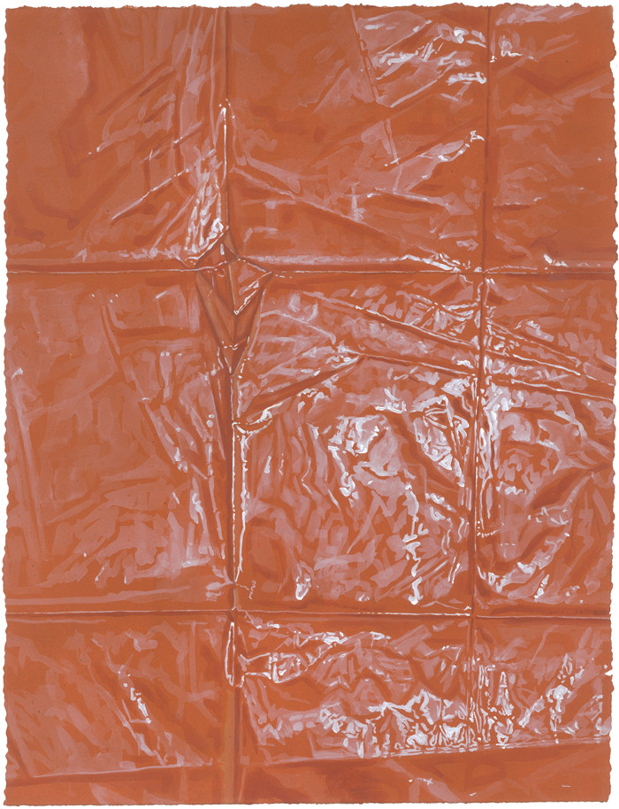 Untitled 5 (orange), 2013