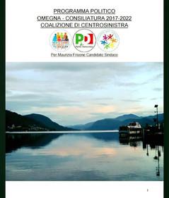 On line il Programma per Maurizio Frisone Sindaco.