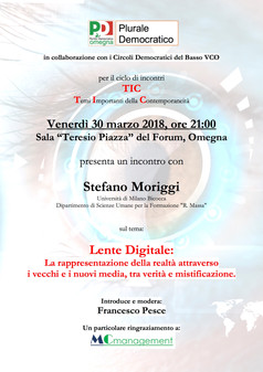 Realtà digitale: ce la spiega il Prof. Moriggi