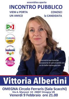 Incontro pubblico con Vittoria Albertini