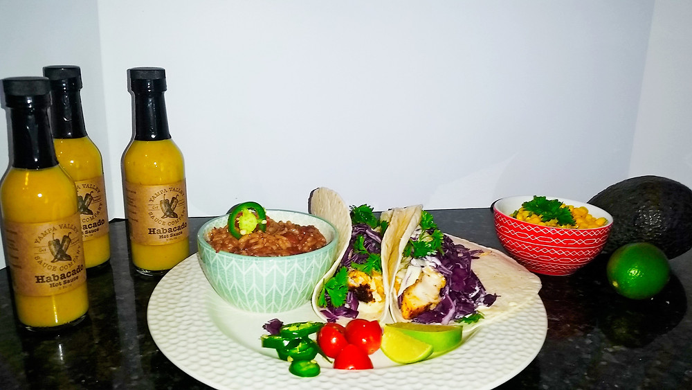 colorado hot sauce fish taco recipe
