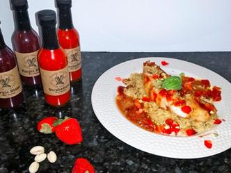 Braised Seabass with Strabenero Pilaf Recipe