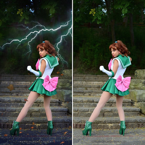 Cosplay Print- Sailor Jupiter (2 Options and 5 Print Sizes Available!)