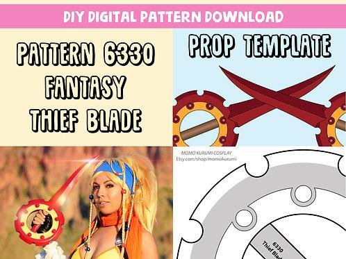 DIY- Thief Blade Prop Template