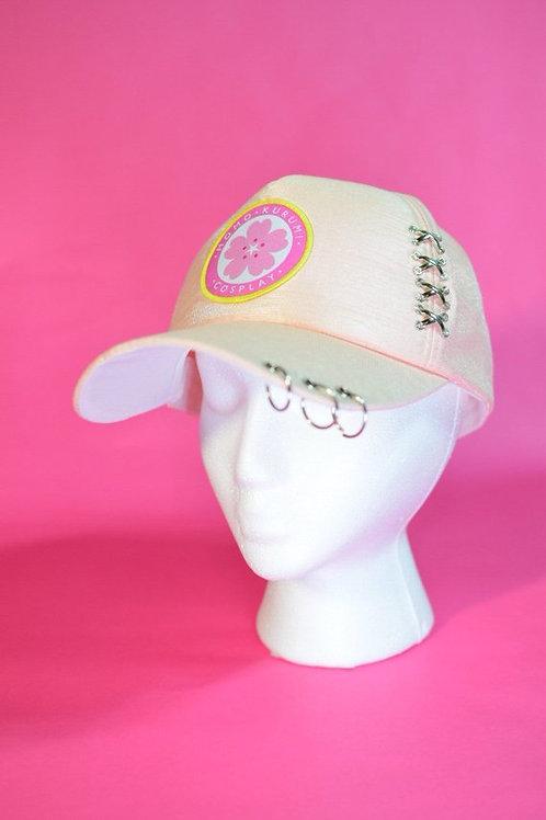 Pink Pierced Baseball Cap