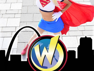 Appearing at Wizard World St Louis as an Official Cosplay Guest!