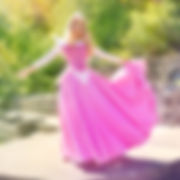 Princess Aurora Pink Dress from Disney's Sleeping Beauty at Loveland Castle by Momo Kurumi Cosplay