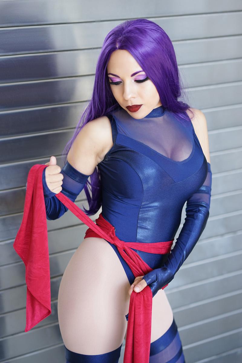 Psylocke • Comic Cosplays • Momo Kurumi Cosplay