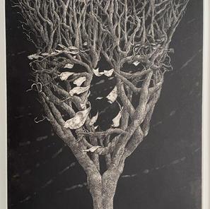 A lonery tree