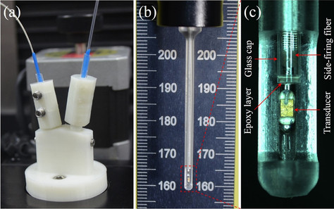 Research Summary: Intravascular ultrasonic–photoacoustic (IVUP) endoscope with2.2-mm diameter cathet