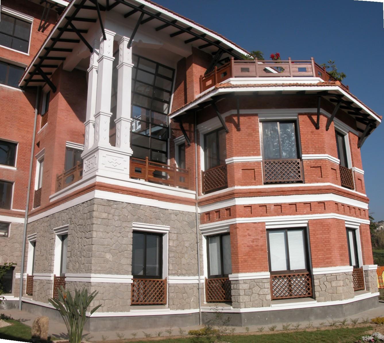 Blk B main facade