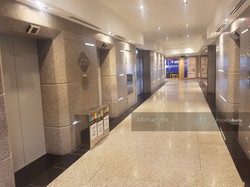 typical lift lobby
