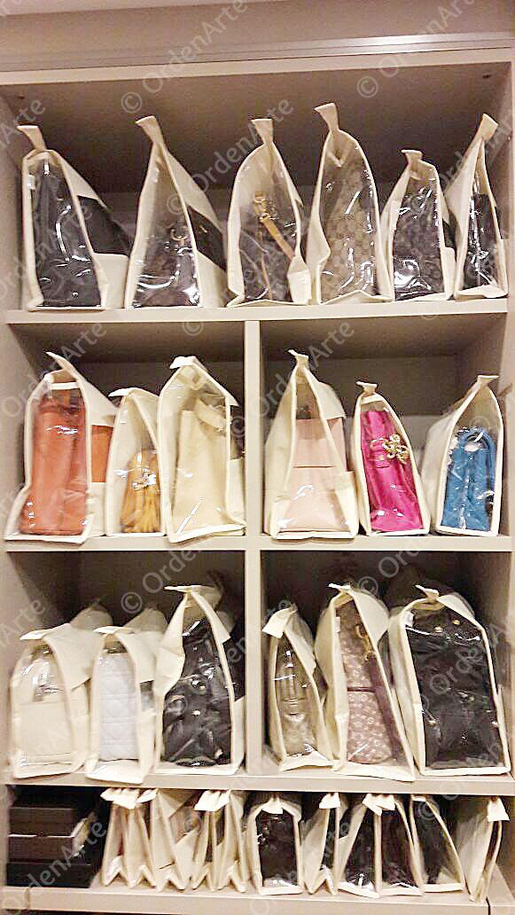 bolsas organizadas
