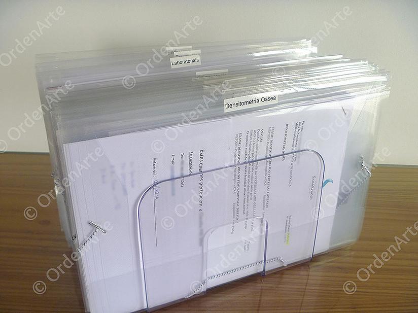 organização documentos