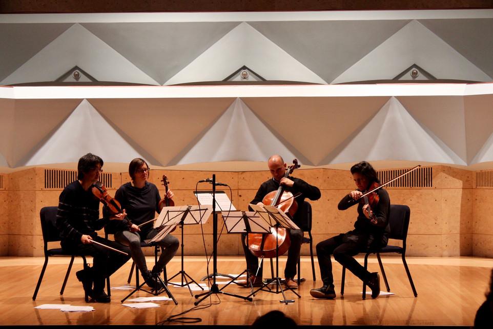 Reading with the Jupiter String Quartet