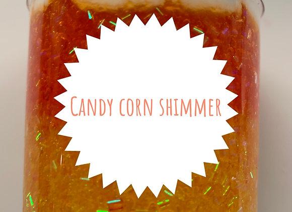Candy corn shimmer