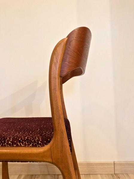 Série de 6 chaises Traineau par Baumann