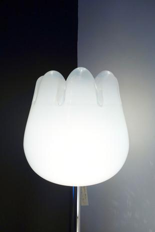 Lampe Murano tulipe Leucos