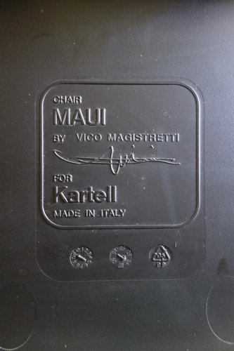 Chaise Maui de Vico Magistretti pour Kar