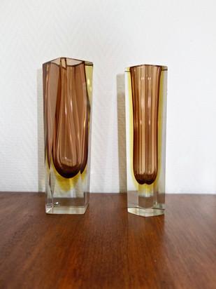 Vases sommerso Murano
