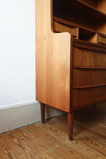Secrétaire commode bibliothèque vintage