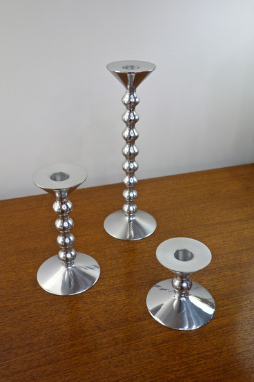 Bougeoirs d'Alessandro Mendini pour Alessi, Italie 2002