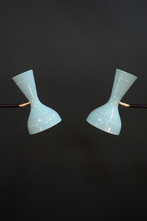 Paire de lampadaires Diabolo