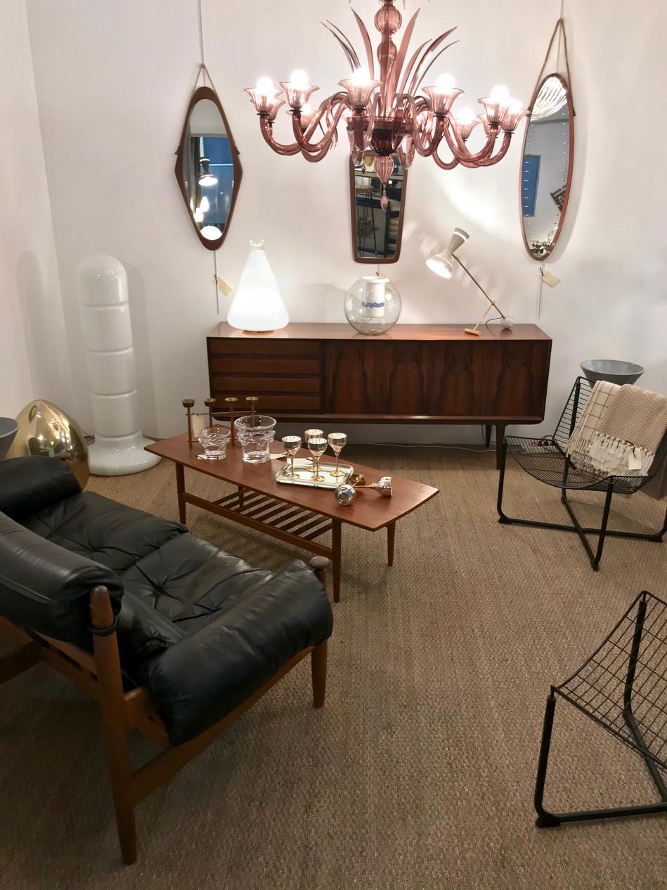 Mobilier scandinave en boutique @galerie