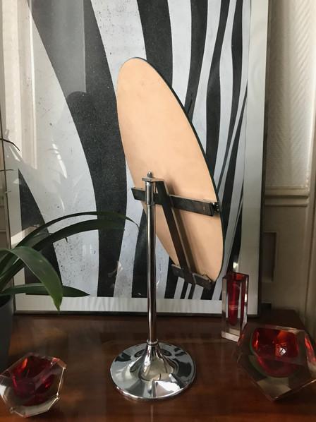 Psché de table pied tulipe 1970's