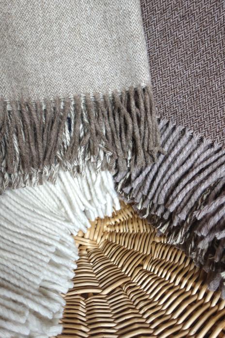 Plaid 100% laine de Burel