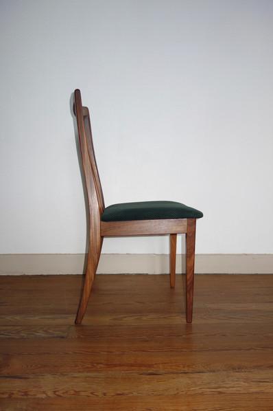 4 chaises scandinave de Lesly Dandy pour