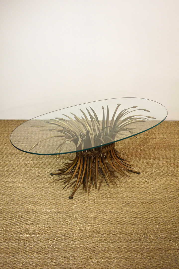 Table basse gerbe de blé Coco Chanel Goossens