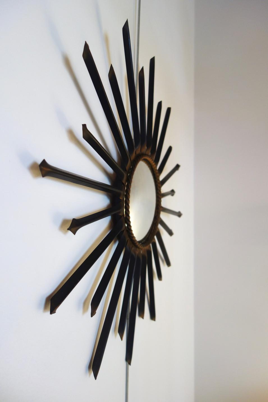 Miroir de sorcière Chaty Vallauris année