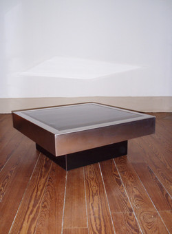 Table basse Willy Rizzo pour Cidue année 70