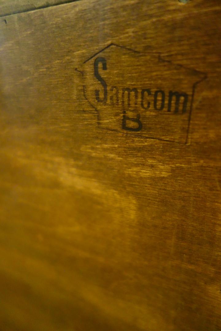 Enfilade scandinave de Bernhard Pedersen pour Samcom 1960's