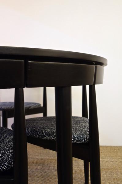 Table à manger et 4 chaises de Hans Olse