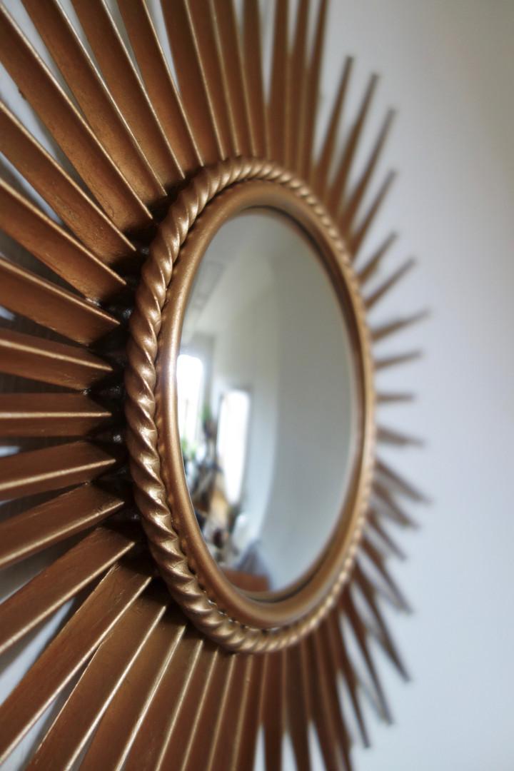 Miroir soleil bombé Chaty Vallauris des
