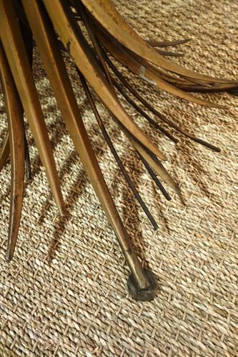 Table basse épi de blé coco Chanel des a
