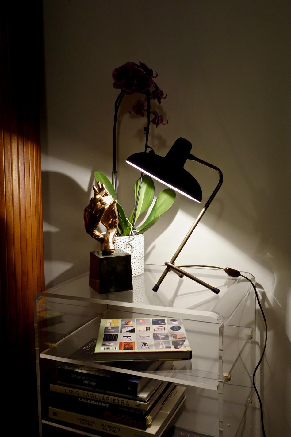 Lampe cocotte 50's aux puces du canal