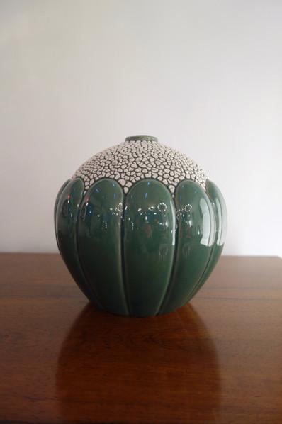 Vase boule Art déco St Clément